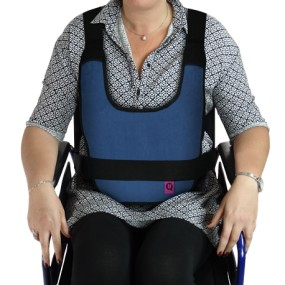 PADDED VEST WITH MAGNET WHEELCHAIR