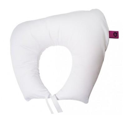 HORSESHOE NECK TRIP PILLOW WHITE