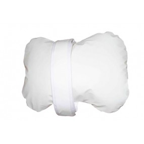 WHITE SANILUXE PILLOW KNEE PAD
