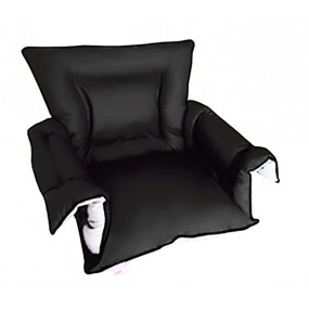 GRAPHITE PADDED SANILUXE SEAT COVER S/L