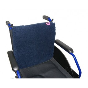 SANITIZED BACKREST+SEAT PROTECTOR NAVY