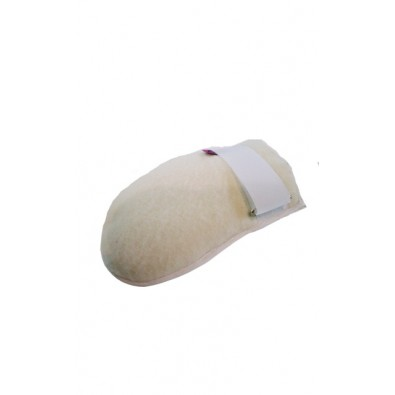 SANITIZED MITTEN  S/S WHITE (PAIR)