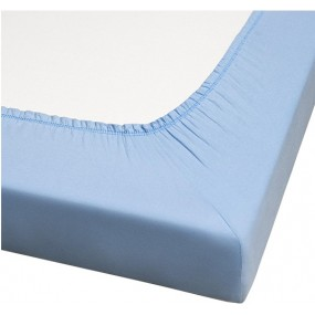 SANILUXE MATTRESS PROTECTOR SKY BLUE 90X190X20 CM