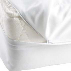 VINYL MATTRESS COVER WHITE
