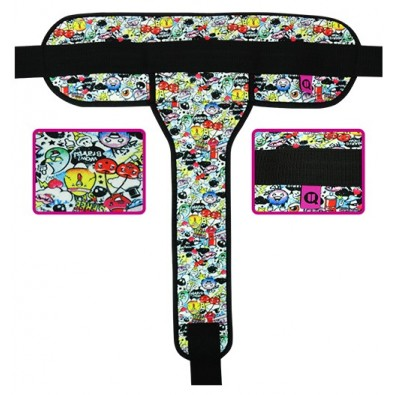 PERINEAL PADDED GRAFITI BELT WHEELCHAIR