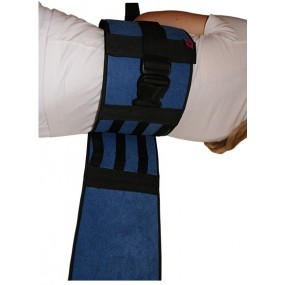 PADDED BED RESTRAINT BELT WITH BUCKLES