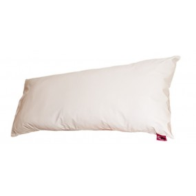 WHITE TERLENKA PILLOW COVER 90CM
