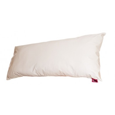 WHITE SANILUXE PILLOW COVER 90 CM