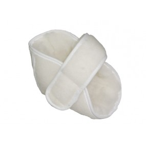 SANITIZED STANDARD HEEL PROTECTOR  WHITE (UNIT)