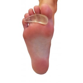 SILICONE LEFT TOE CREST
