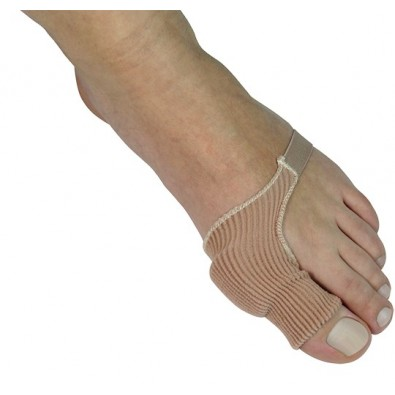 BUNION PROTECTOR WITH ELASTIC STRIP