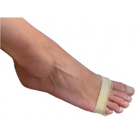 TISSUE-COVERED SILICONE FOOTBAND