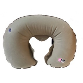 ANATOMICAL NECK INFLATABLE PILLOW